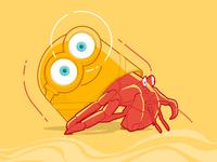 Plastic Ocean - Minion Crab
