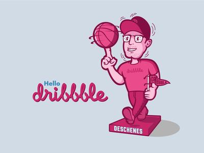 Dribbble Debut - Bobblehead Me