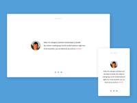 Simple Portfolio Page