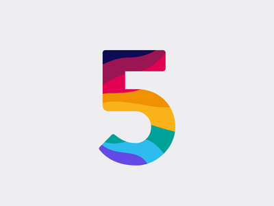 Giveaway: 5 Dribbble Invites! wavvy colors lettering invites invite giveaway dribbble invites