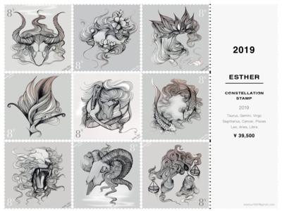 Constellation Stamp 2019