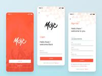 Events App Login process