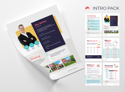 Leadhome Seller Intro Sale Pack brochure design figmadesign figmaafrica figma vector branding leadhome illustration design