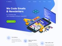 MailCode Landing Page