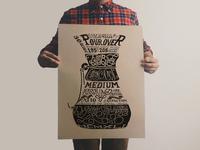 Chemex Typography Print