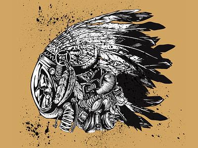 Native Galactic Warrior - Luck, TX