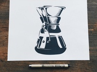 Chemex Illustration