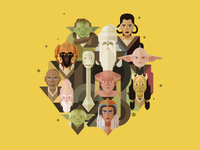 12 Jedi Masters