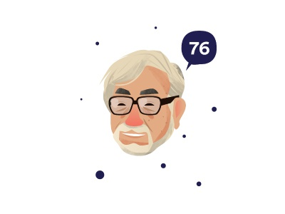Sensei happy affinity mikata tokyo japan hayao miyazaki totoro illustration ghibli
