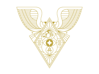 Phoenix logo wing jakarta bird emblem crest design indonesia vector illustration