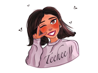Spreading smile 😄 stay safe stay home quarantine design digital illustration characterdesign art vector illustration procreate