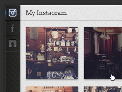 Printerous Photo Source Pop Up popup instagram photo