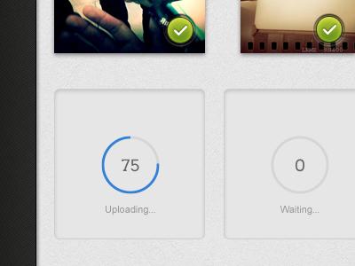 Uploading loading loader upload status progress