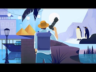 Documentary ufo city penguins pyramid explorer photography adventure journey travel documentary