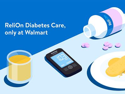 Walmart Insulin LNC Productions lncproductions pills insulin walmart editorialillustration digitalillustration illustration
