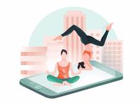 Yoga & Phone Mat