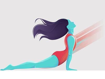 YOGA digitalillustration vector meditation yogi yoga mentalhealth editorialillustration illustration