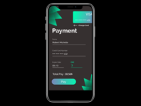 DailyUI Challenge #002 - Payment Page