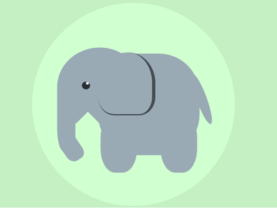 #Day 2 : Elephant in pure CSS