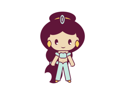 Jazmin made with only css css3 aladdin illustration icon web vector imagecss draw frontend design developer html 5 css dailycssimages dailycss coder