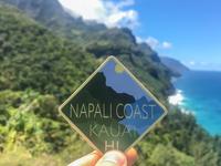 Napali Coast Sticker
