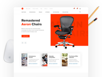 Herman Miller - redesign concept. Part 1
