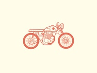 Cafe Racer Illustration