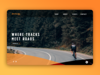 Over the Edge Website concept