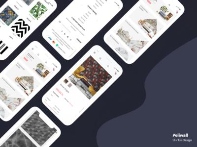 Wallpaper E-Commerce Web Site Mobile Design mobile design mobile ui mobile design uiux ux ui e-commerce wallpaper
