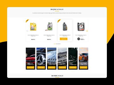 Car Parts E-Commerce Web Site Showcase showcase e-commerce car part car