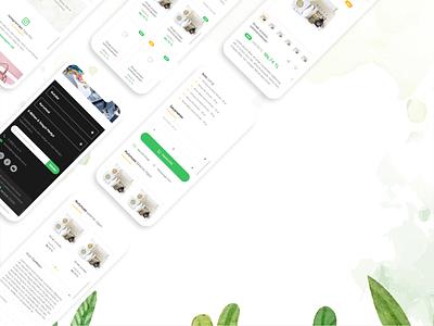 Organic Box Mobile E-Commerce Design uiux ux ui responsive organic mobile e-commerce box design box
