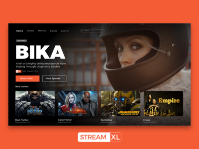 Streamxl Tv Web  UI