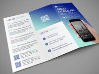 Mobile App tri-fold