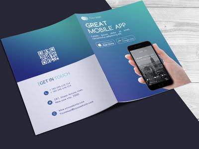 Mobile App Bi-fold