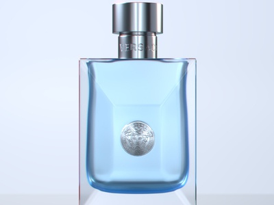 Versace After Shave Product Lighting