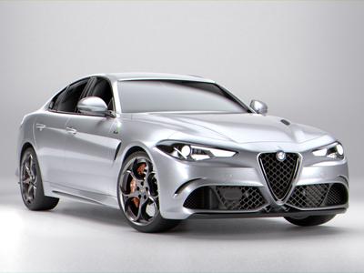Alfa Romeo Giulia Quadriglio 2016 model
