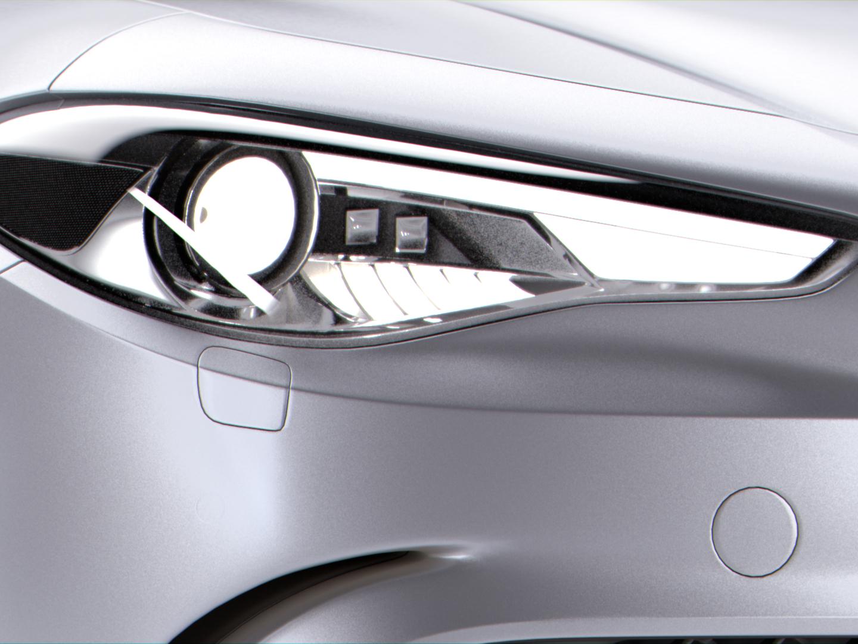 Alfa Romeo Giulia Quadriglio 2016 model lights alfa influecer instagram milano instagram milan-icons milan cards metallic paint car flakes flakes grey car lighting automotive car nukex grading texturing lighting rendering 3dmodelling