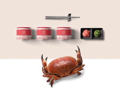 Sushi branding design - Food branding pack food sushi restaurant identity packaging brand design logos minimal modern logo branding
