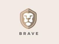 Lion King Shield  Logo