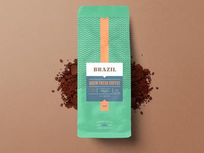 COFFEE BAG PACKAGING DESIGN Brazil