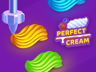 Perfect Cream #1 mobile game casual hypercasual playgendary cream perfect