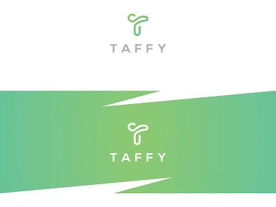 Taffy!!! dribbble modern icon t mark letter creative unique logo