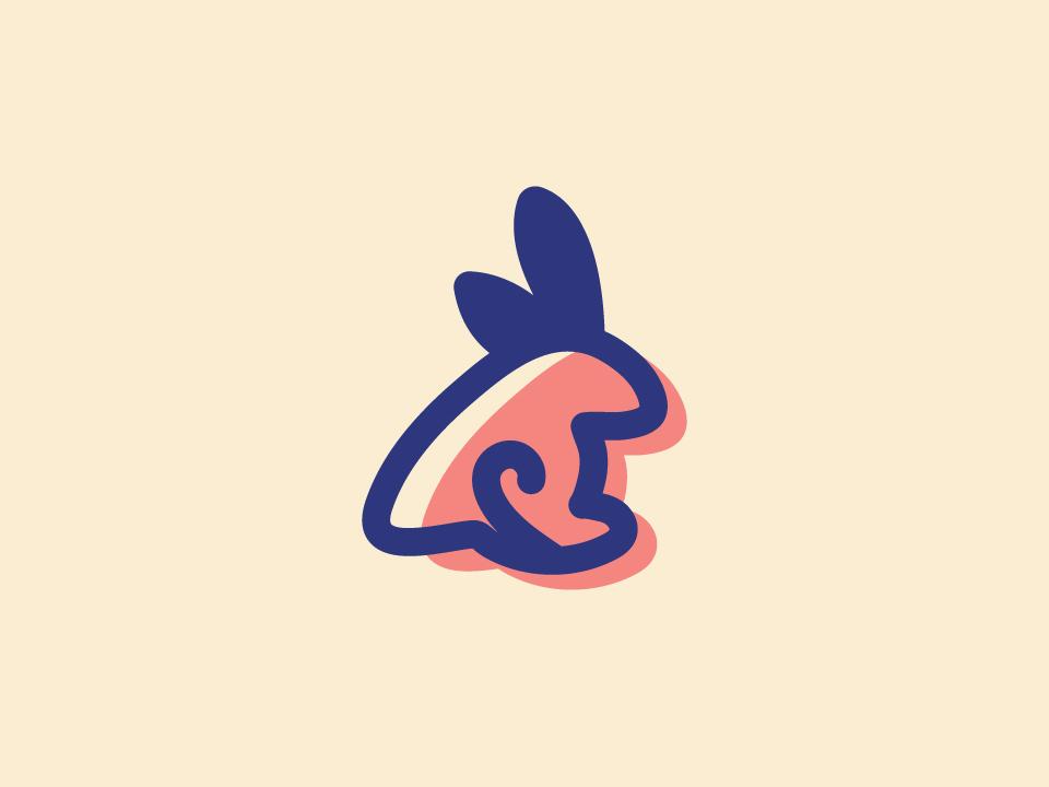 Rabbit Logo. rabbit logo creative unique modern design logo