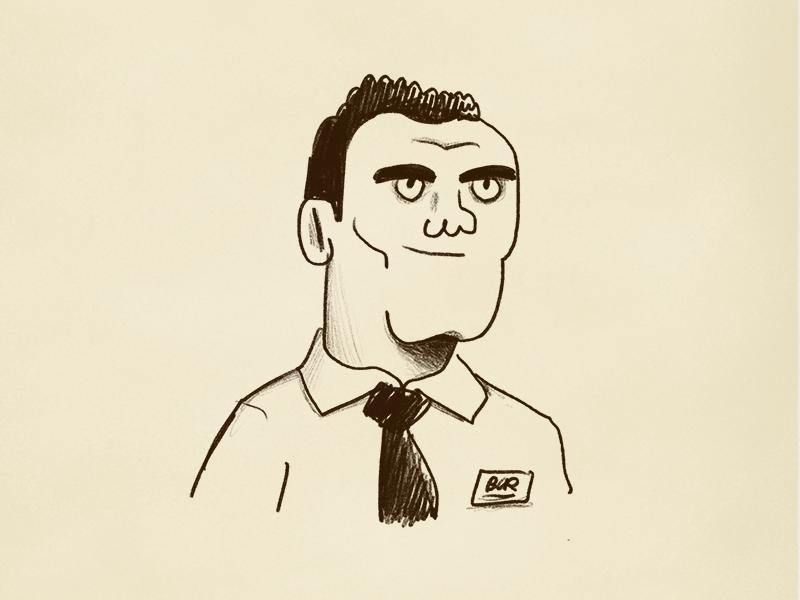 Costa Rican #4 people costa rican costa rica art procreate ipad pro doodle character illustration alejandromilàstudio drawing character design