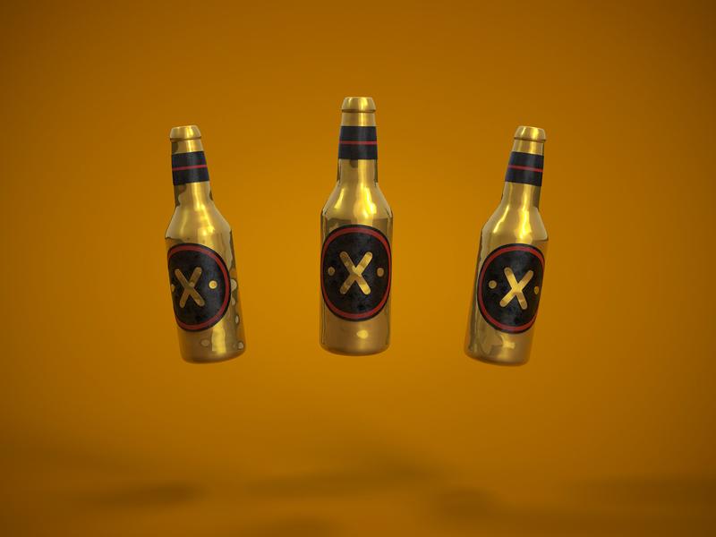 Thank God is Thursday! beertime beer alejandromila 3d character cinema4d c4d character design illustration