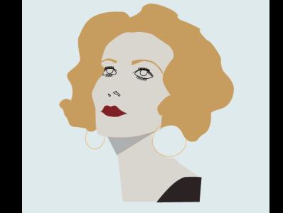 Fairuz Illustration singer arab arabic design illustraion celebrity artist