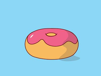 Donut illustration donut sweets quarantine