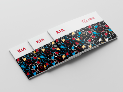KIA New Year Event Design logo design branding branding. graphic design иллюстрация дизайн дизайн логотипа брендинг. идентичность графический дизайн