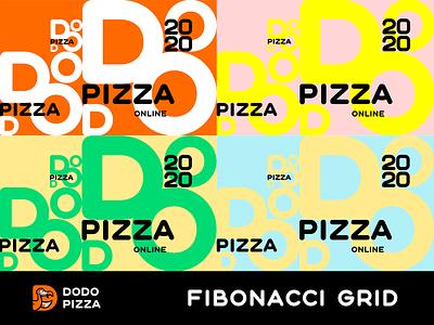 DODO Design for an online event identity branding. graphic design pattern идентичность брендинг. design grid графический дизайн
