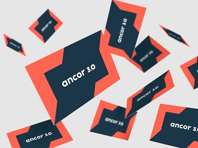 Ancor 3.0 identity graphic design идентичность branding графический дизайн logo design